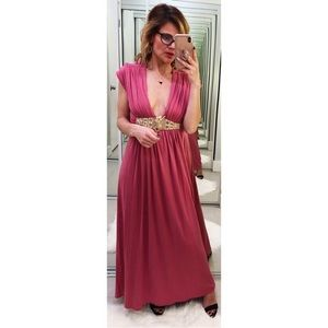 Sky Embellished Maxi Dress